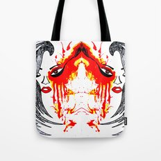 On Fire. Tote Bag