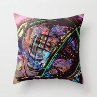 Broken Sphere Throw Pillow