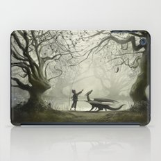 The Boy And His Dragon iPad Case
