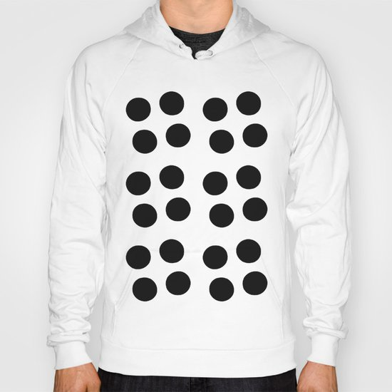 Copijn Black & White Dots Hoody