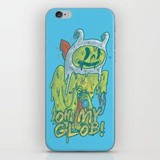 Zombie Finn iPhone & iPod Skin