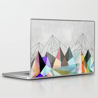 nature Laptop & iPad Skins featuring Colorflash 3 by Mareike Böhmer Graphics