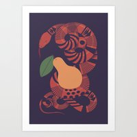 The Forbidden Fruit Art Print