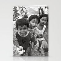 Vietnamese Children With… Stationery Cards