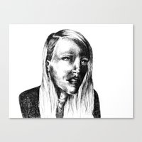 She Is Canvas Print