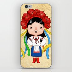 A Ukrainian Girl iPhone & iPod Skin