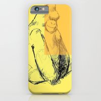 iPhone & iPod Case featuring bananas by teresaferreira