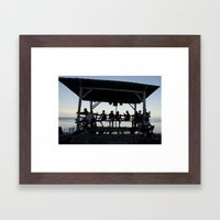 Sweet Afternoon Framed Art Print