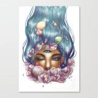Canvas Print featuring ThirdEye by Jessekaur13