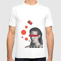 Fashion Is Not Real Life Mens Fitted Tee White SMALL