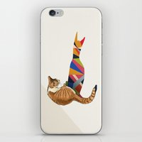 Walking Shadow, Cat 2 iPhone & iPod Skin