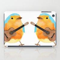 music bird iPad Case