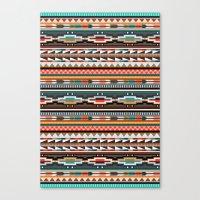 Textile Canvas Print