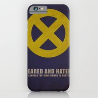 iPhone & iPod Case featuring X-Men (Super Minimalist series) by Itomi Bhaa