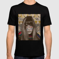 JANE SMALL Mens Fitted Tee Black