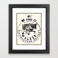 M And C Incorporated Framed Art Print