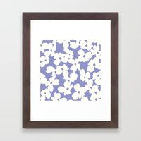 Dogwood: Lilac Tulip Framed Art Print