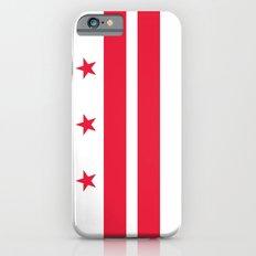 Washington D.C Flag, authentic version Slim Case iPhone 6s