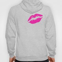 Pink Lipstick Hoody