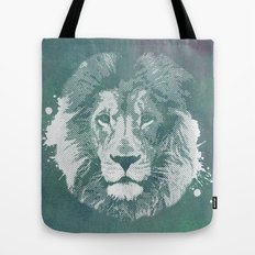 Lion's mark Tote Bag