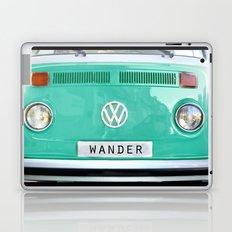Wander wolkswagen. Summer dreams. Green Laptop & iPad Skin