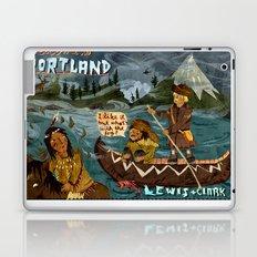 Postcard from Lewis + Clark Laptop & iPad Skin