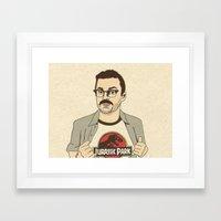 Lowery Framed Art Print