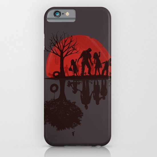 A Family Once (dark version) iPhone & iPod Case