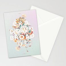 Bro Down, Broad Up Stationery Cards