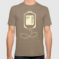 Coffee Transfusion Mens Fitted Tee Tri-Coffee SMALL