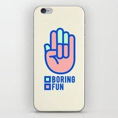 BORING N0.1 iPhone & iPod Skin