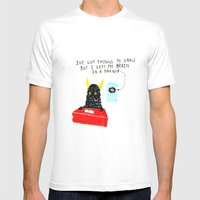 Silly Rhyme Doodles  Mens Fitted Tee White SMALL