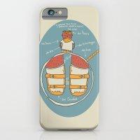 der Strumpf, die Sandale. iPhone 6 Slim Case