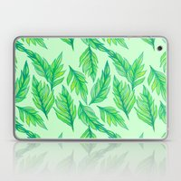 Green Leaves Laptop & iPad Skin