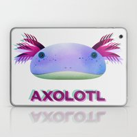 Axolotl Friend Laptop & iPad Skin