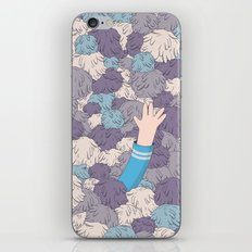 Spock's Trouble With Tribbles (Star Trek) iPhone & iPod Skin
