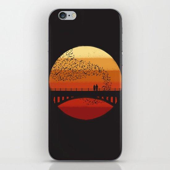 Into the Setting Sun iPhone & iPod Skin