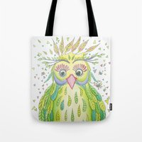 Forest's Owl Tote Bag