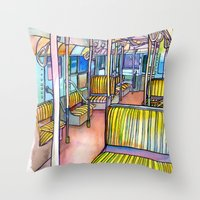 Love NYC's everything No.4 Throw Pillow