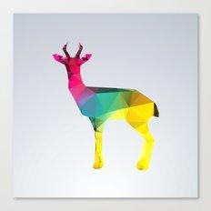 Glass Animal Series - Gazelle Canvas Print
