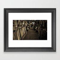 How Bazaar Framed Art Print