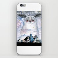 Night creature iPhone & iPod Skin