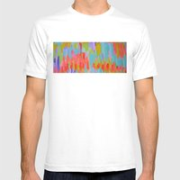 Pastel Mens Fitted Tee White SMALL