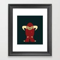 Love Monster 3 Framed Art Print