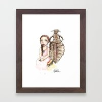 My Louse Friend Framed Art Print