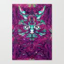 Space Cat (Feat. Bryan Gallardo) Canvas Print