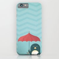 penguin iPhone & iPod Cases featuring Penguin by Travel Poster Co.