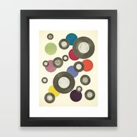 Put Another Record On Framed Art Print