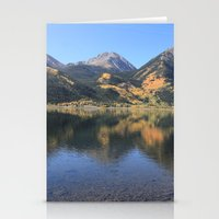 Twin Lakes, CO Stationery Cards