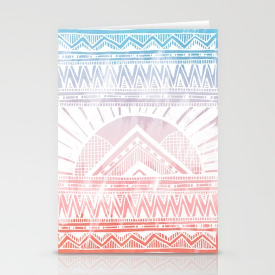 Surf Morning Stationery Card